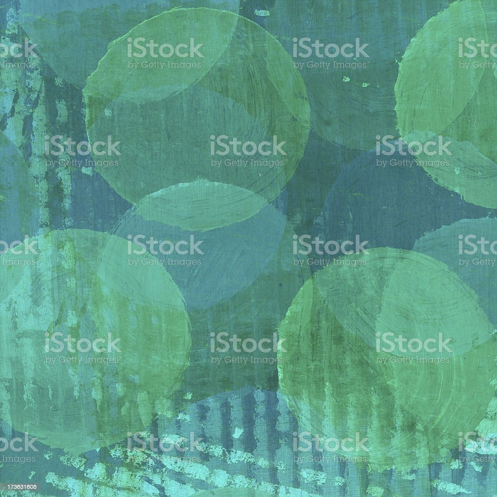 Overlapping Circles royalty-free stock photo