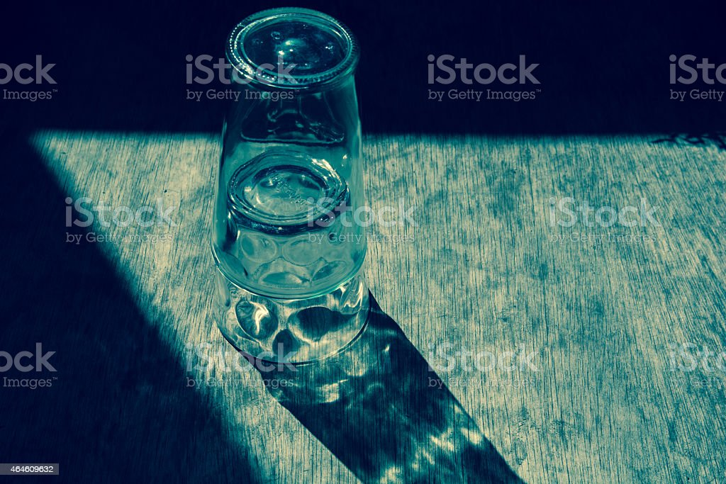 Overlapping glass royalty-free stock photo