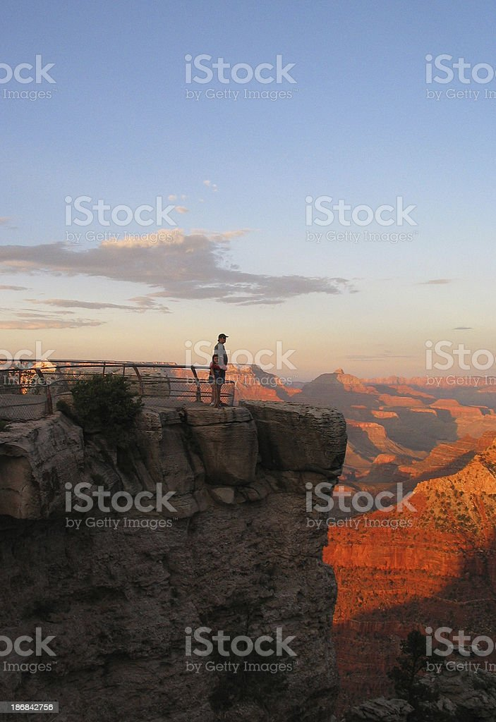 overlook royalty-free stock photo