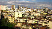 Overlooking the ancient city of Mombasa