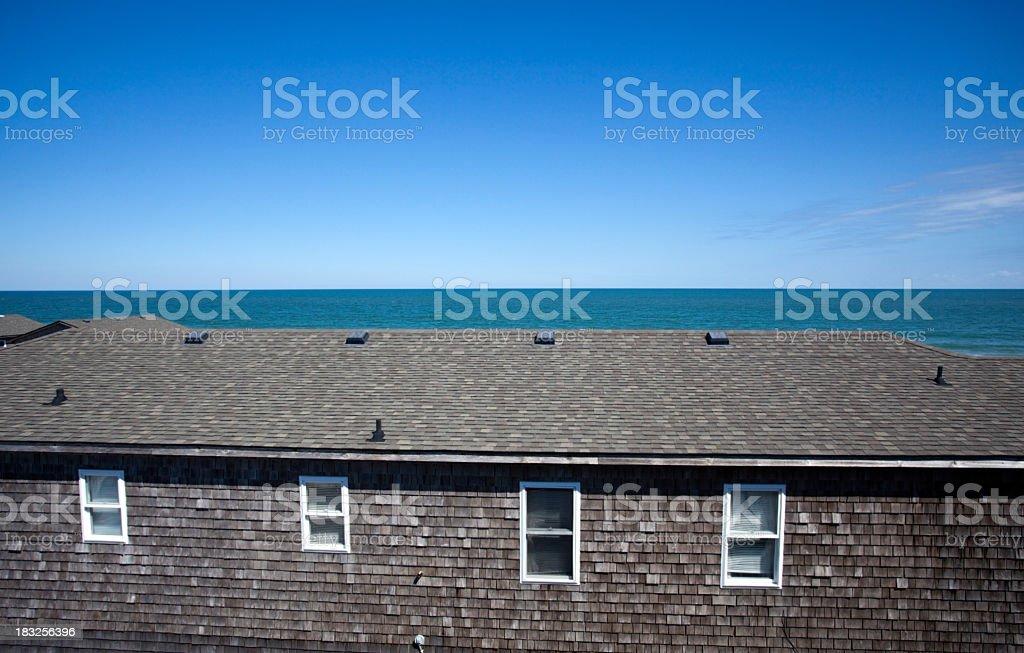 Overlooking the Atlantic royalty-free stock photo