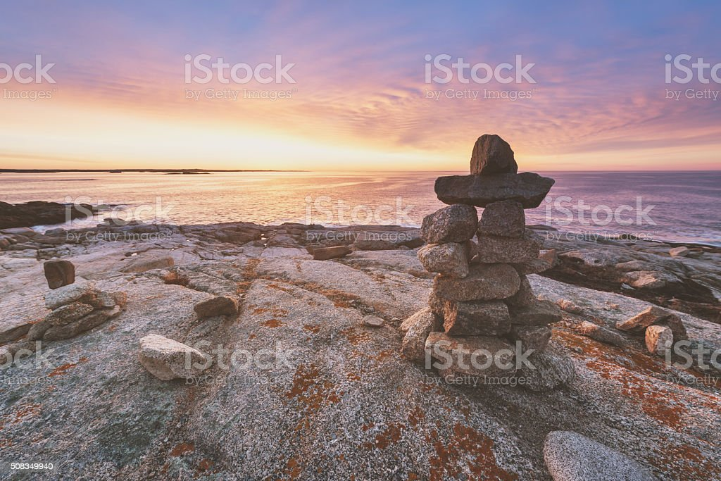 Overlooking the Sunrise stock photo