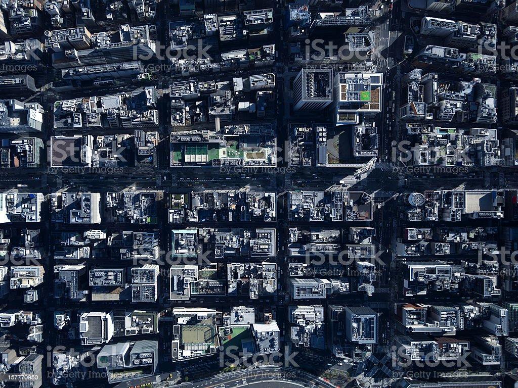 Overlooking Tokyo. stock photo