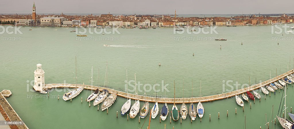 Overlooking Venice. royalty-free stock photo