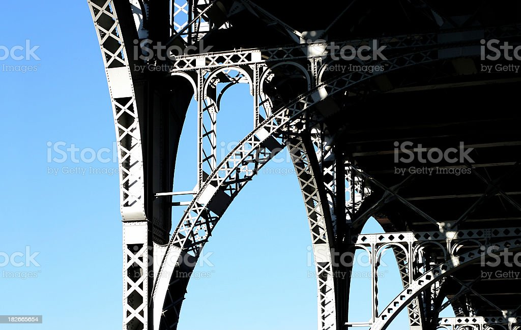 overpass details royalty-free stock photo