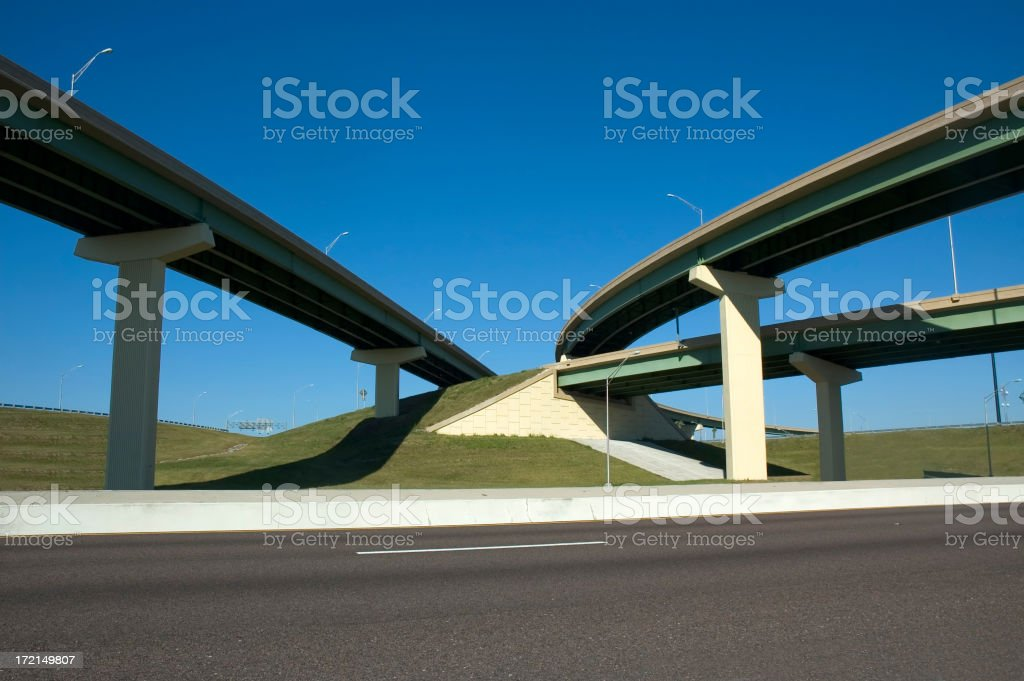 Overpass royalty-free stock photo