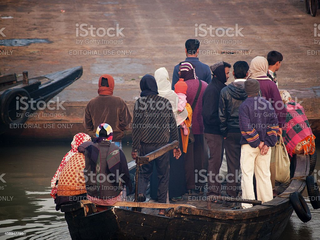 Overpopulation is raising unemployment in Bangladesh stock photo