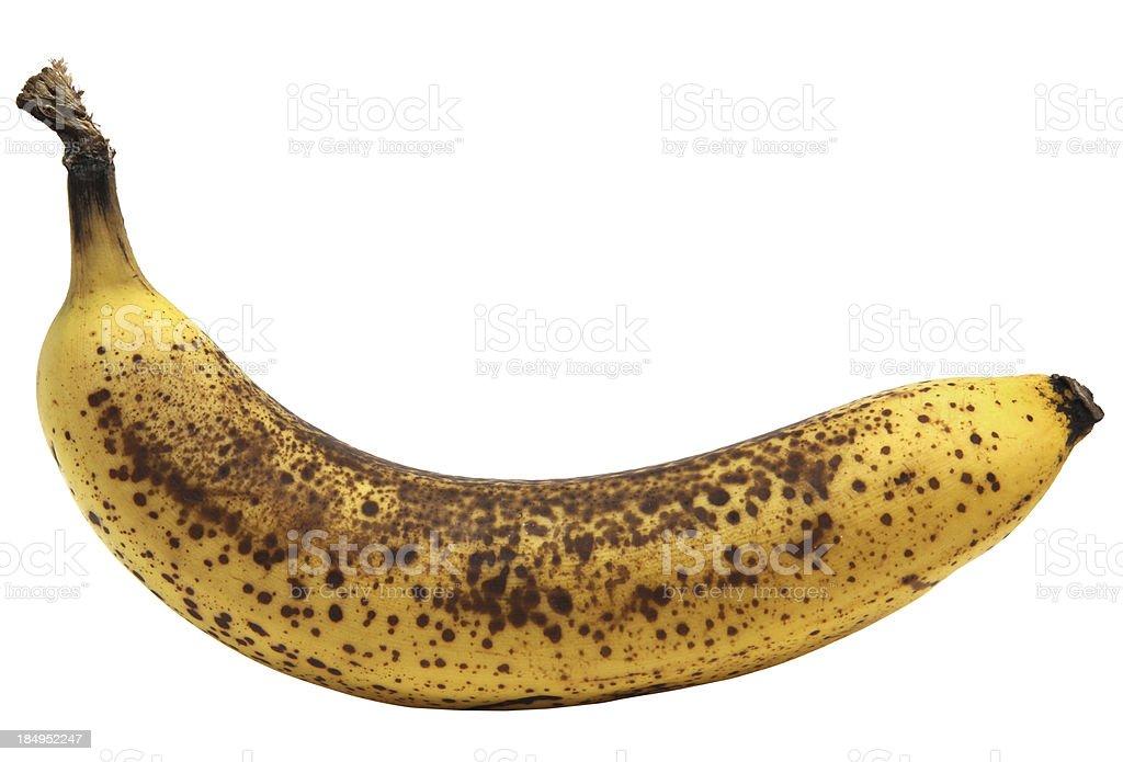 Overripe banana royalty-free stock photo