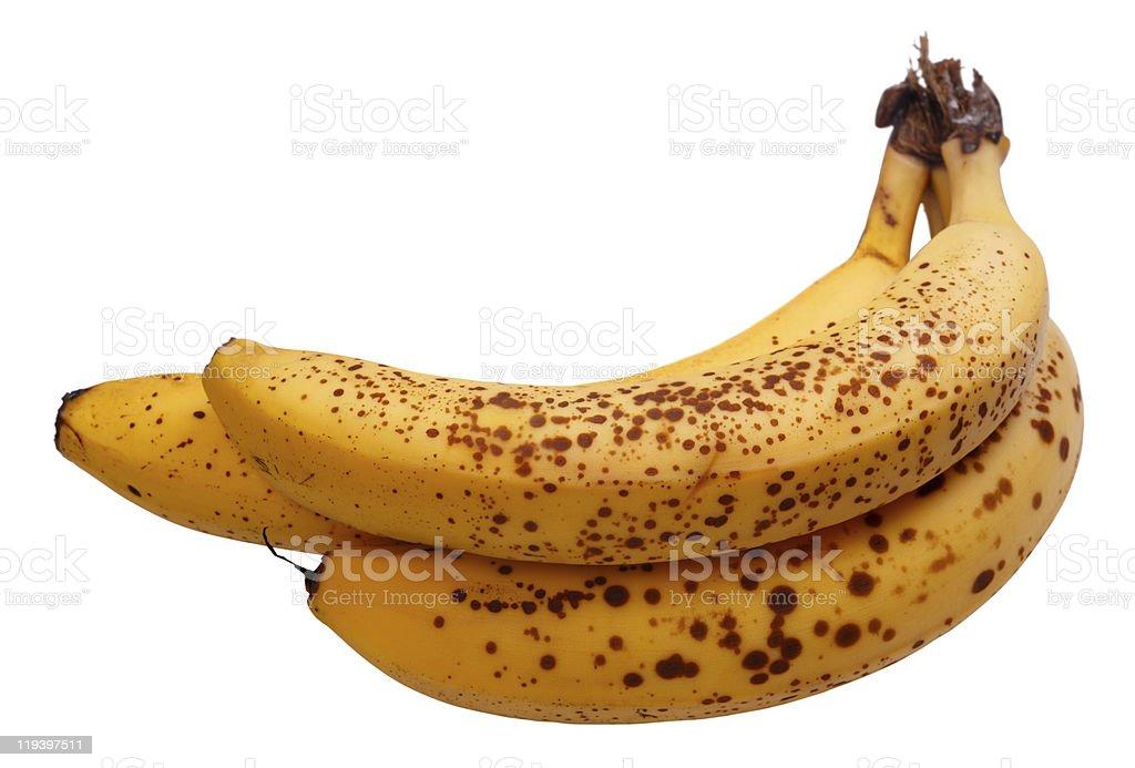 Overripe bananas royalty-free stock photo