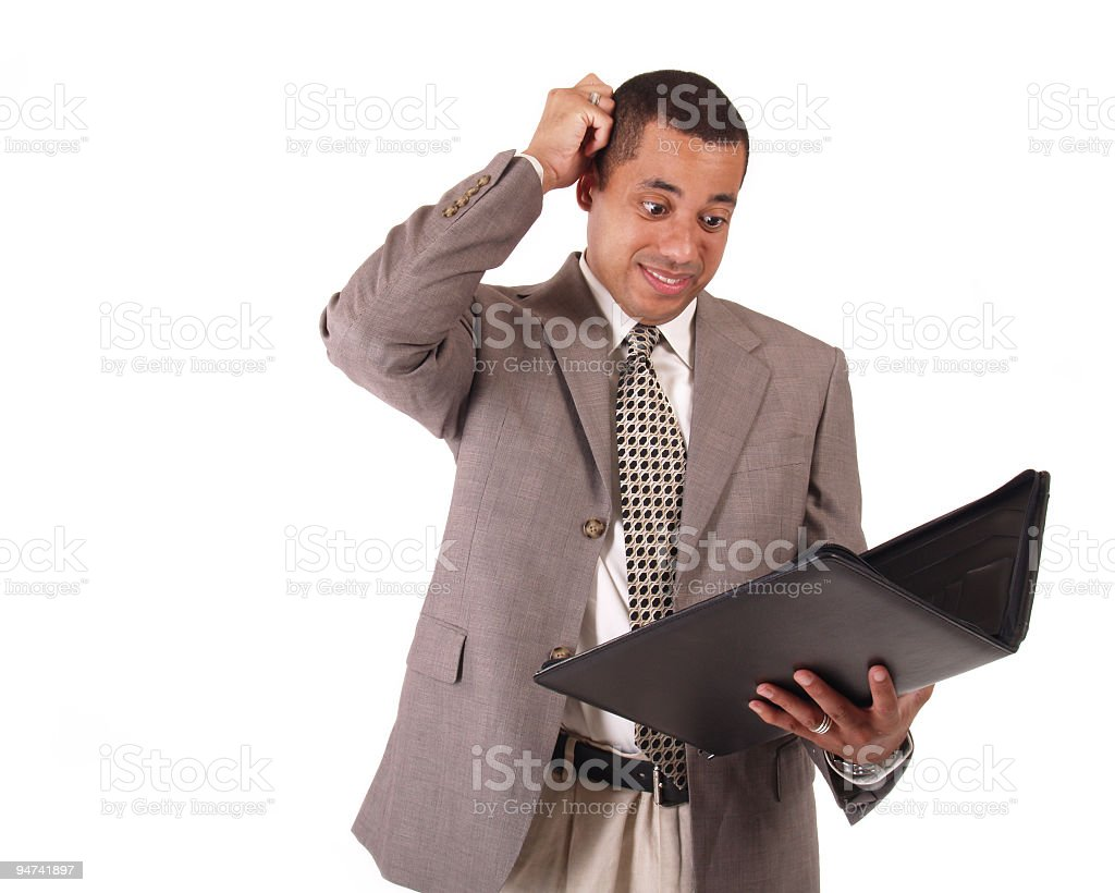 Overscheduled Underpaid royalty-free stock photo
