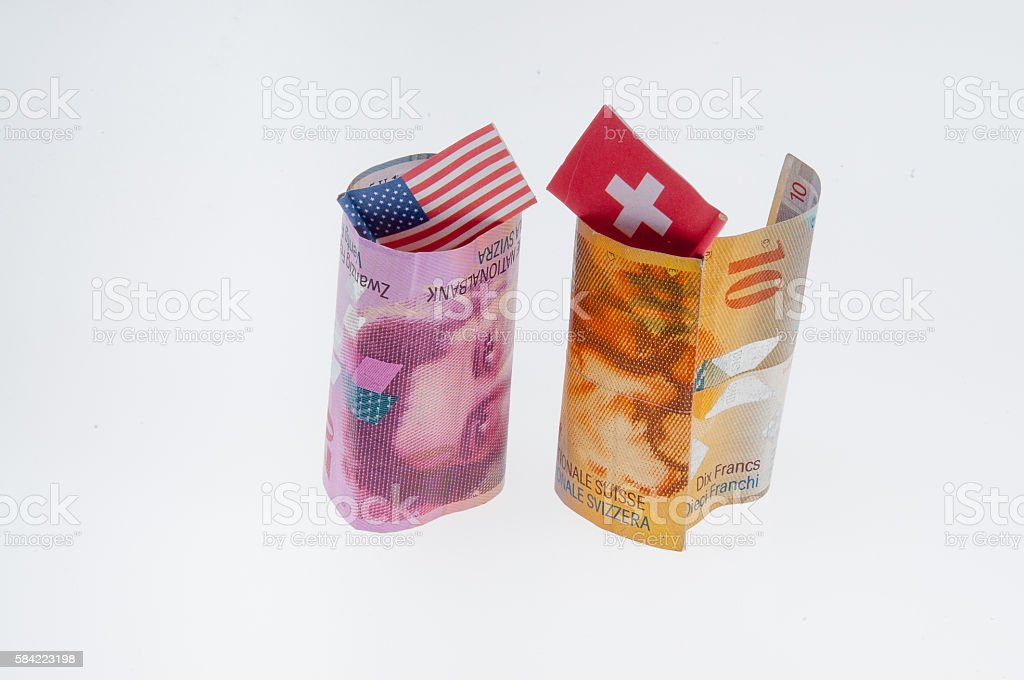 Overseas financial meeting stock photo