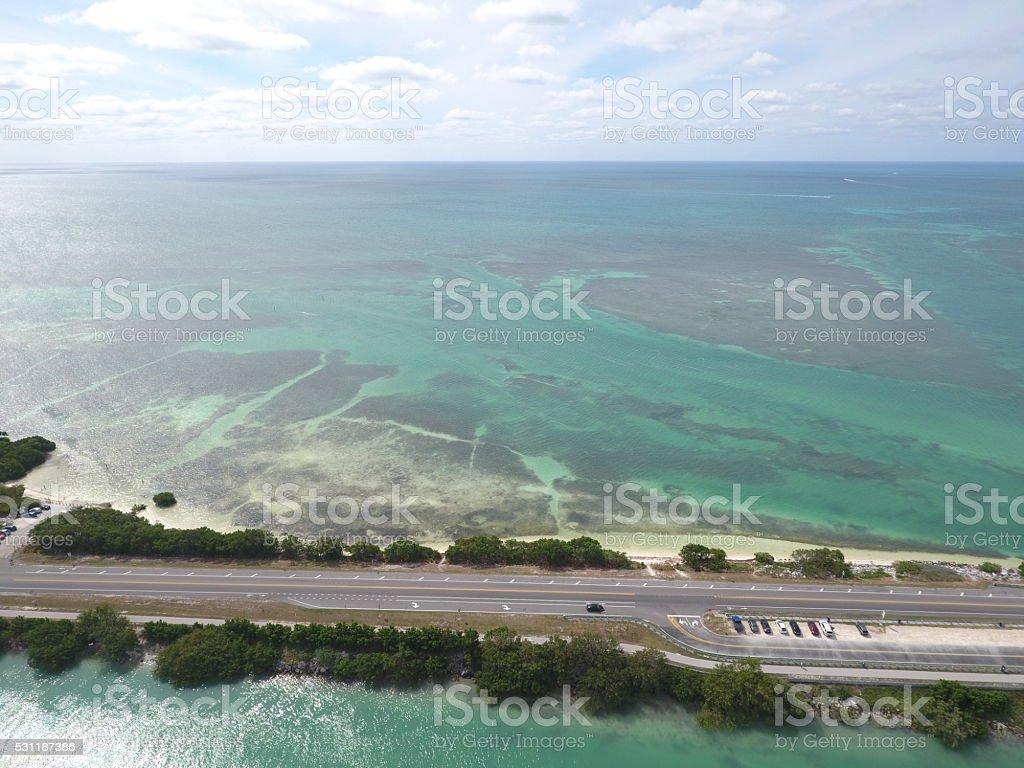 Overseas Highway Florida Keys stock photo