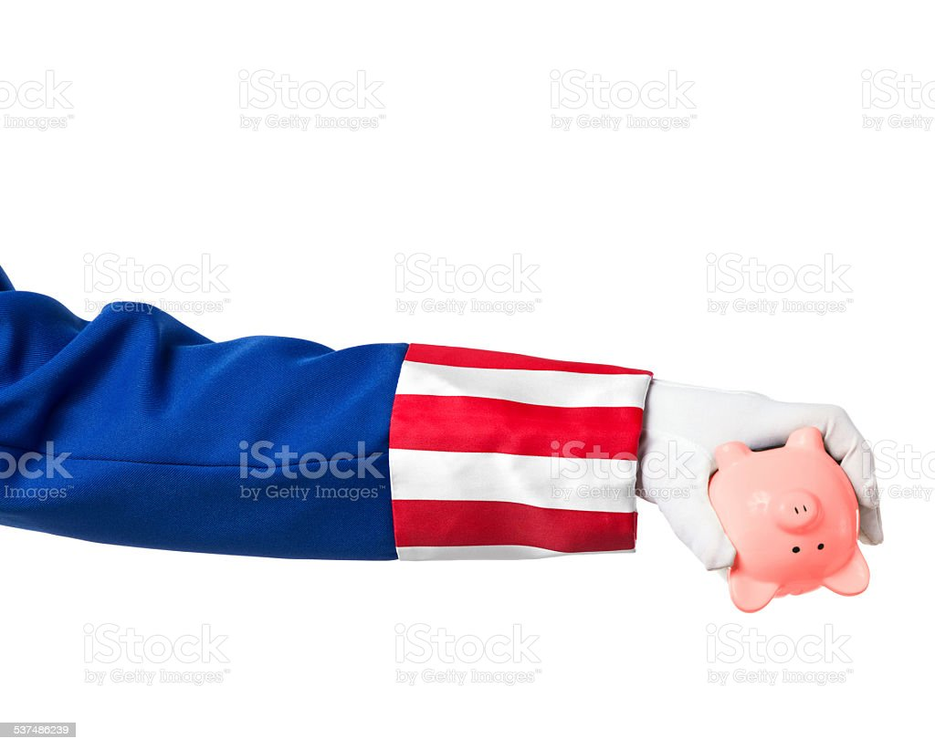 Overspending government stock photo