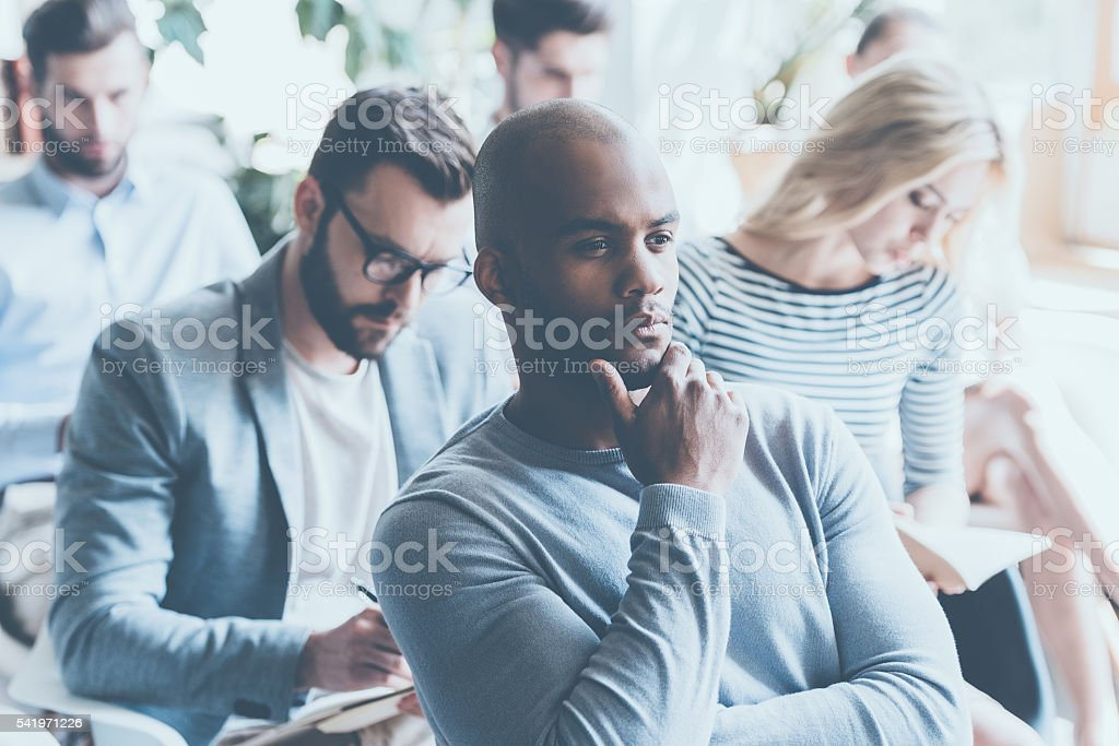Overthinking info. stock photo
