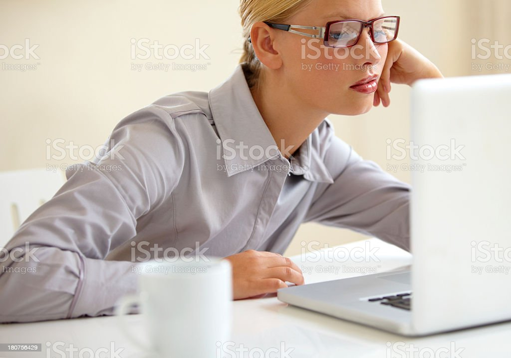 Overtired and underpaid stock photo