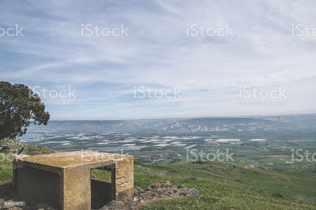 overview bunker stock photo