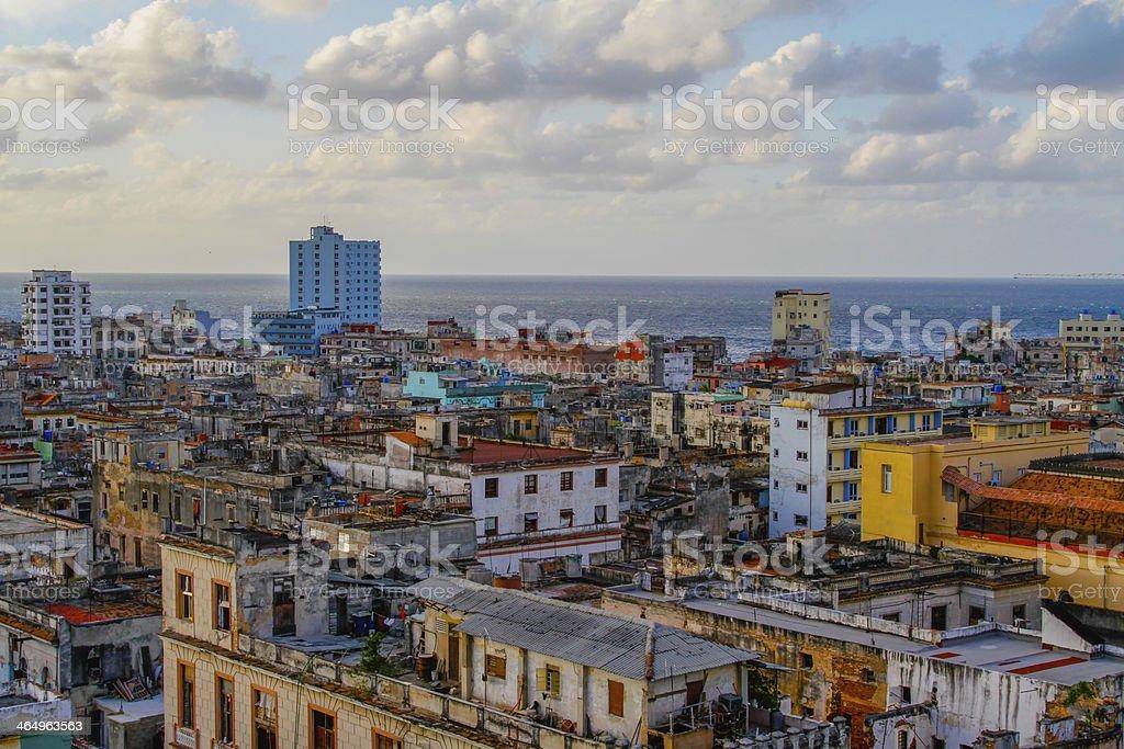 Overview of Havanna stock photo