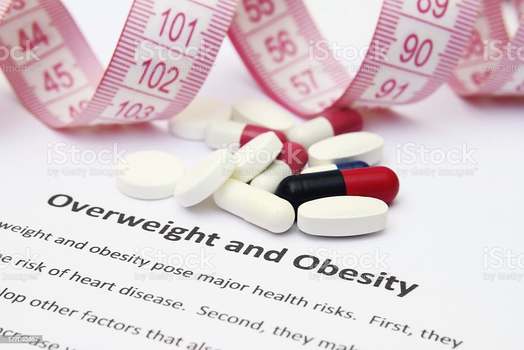Overweight and obesity stock photo