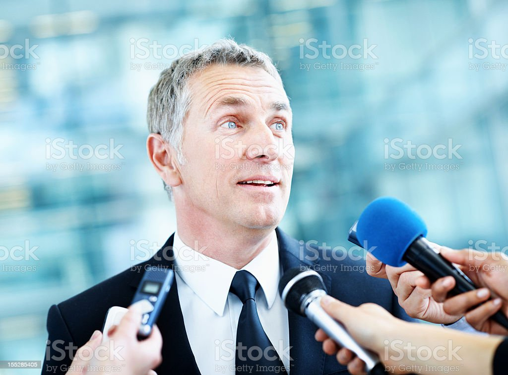Overwhelmed by media royalty-free stock photo