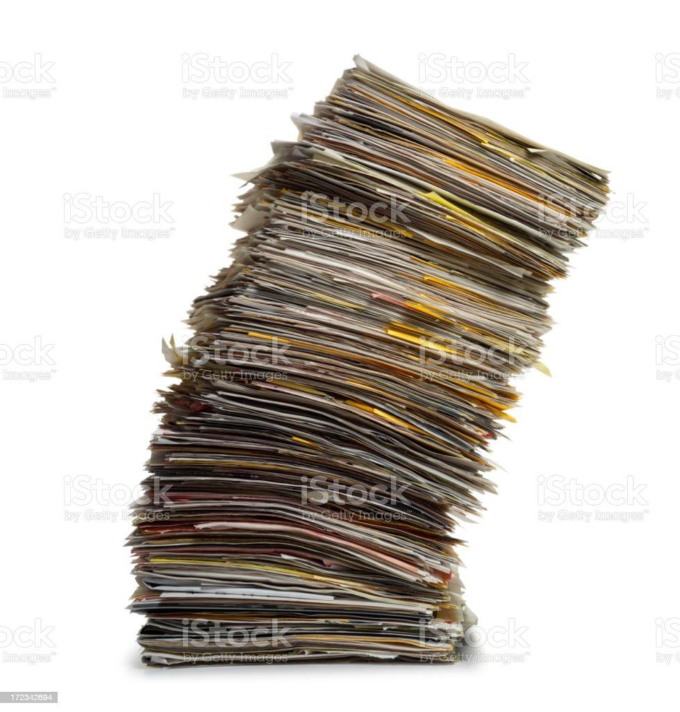 Overwhelming Workload stock photo