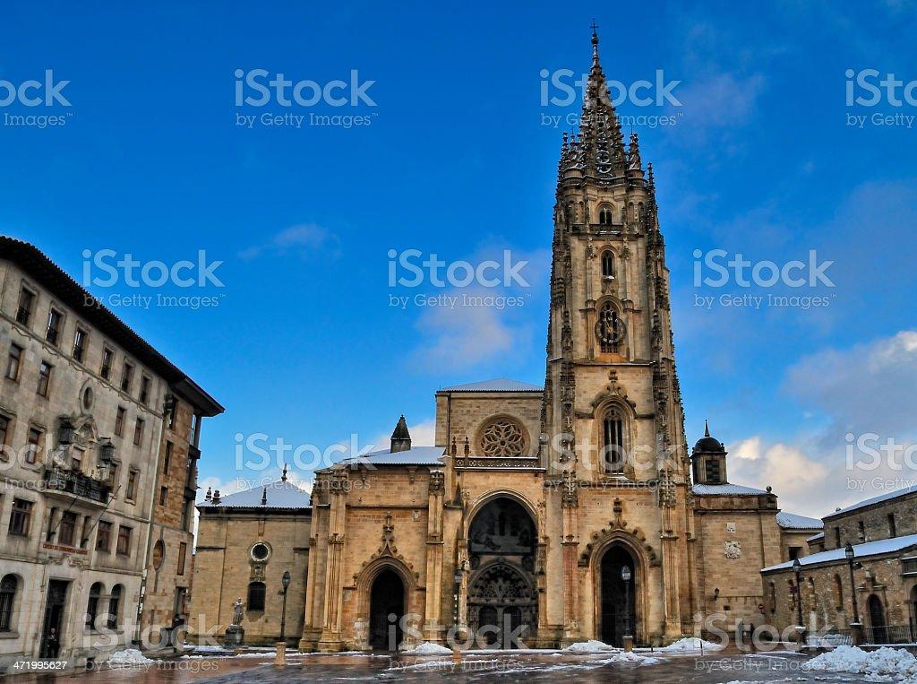 Oviedo. stock photo