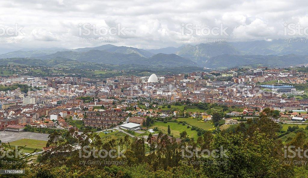 Oviedo , Spain stock photo