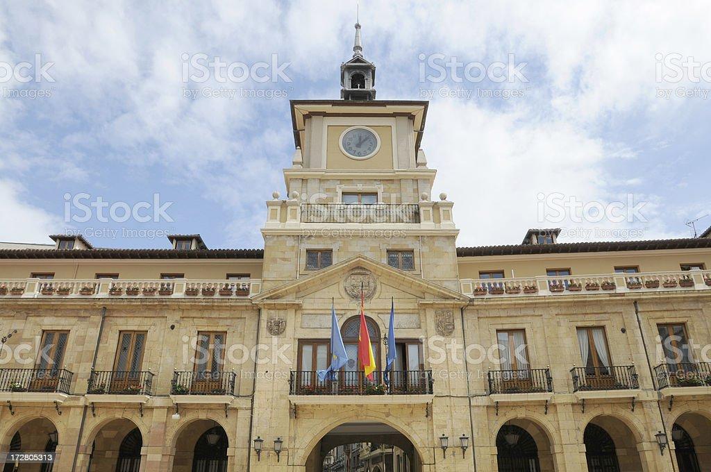 Oviedo Town Hall stock photo