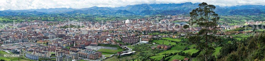 Oviedo,Spain stock photo