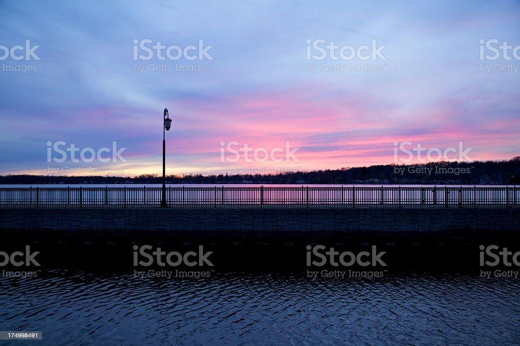 Owasco Lake stock photo
