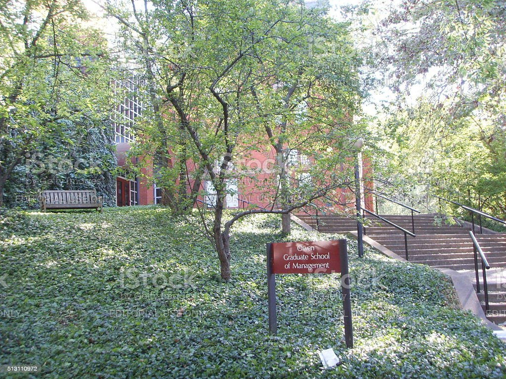 Owen Graduate School of Management at Vanderbilt University. stock photo