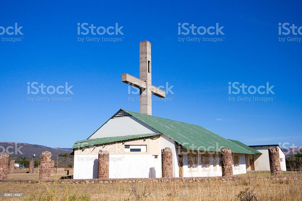 Owen's Mission in Mgungundlovu, South Africa stock photo