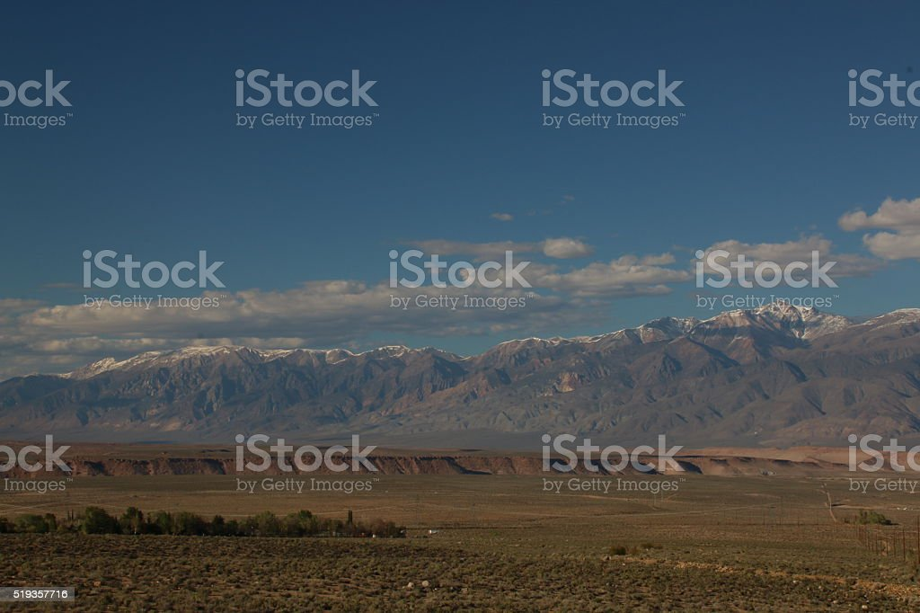Owens Valley stock photo