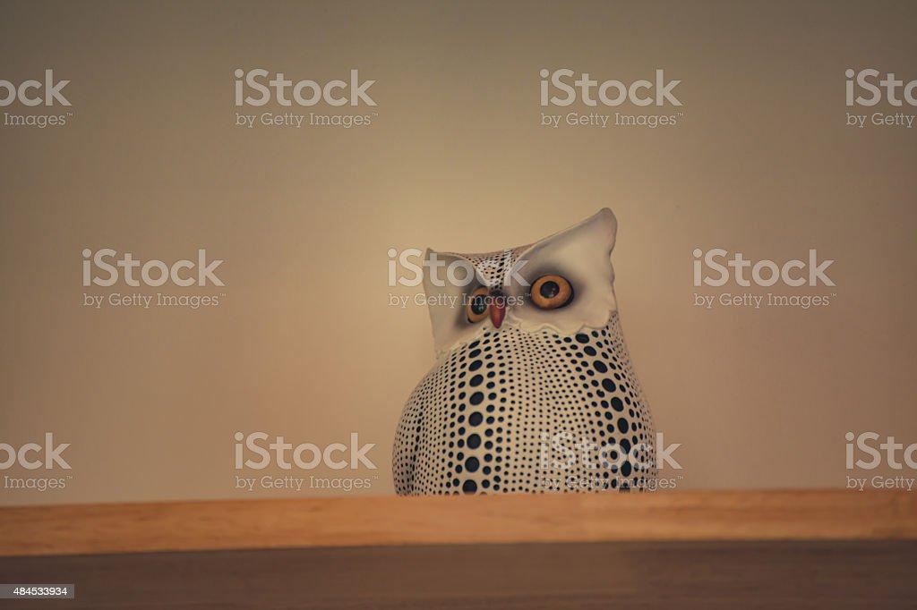 Owl Decor stock photo
