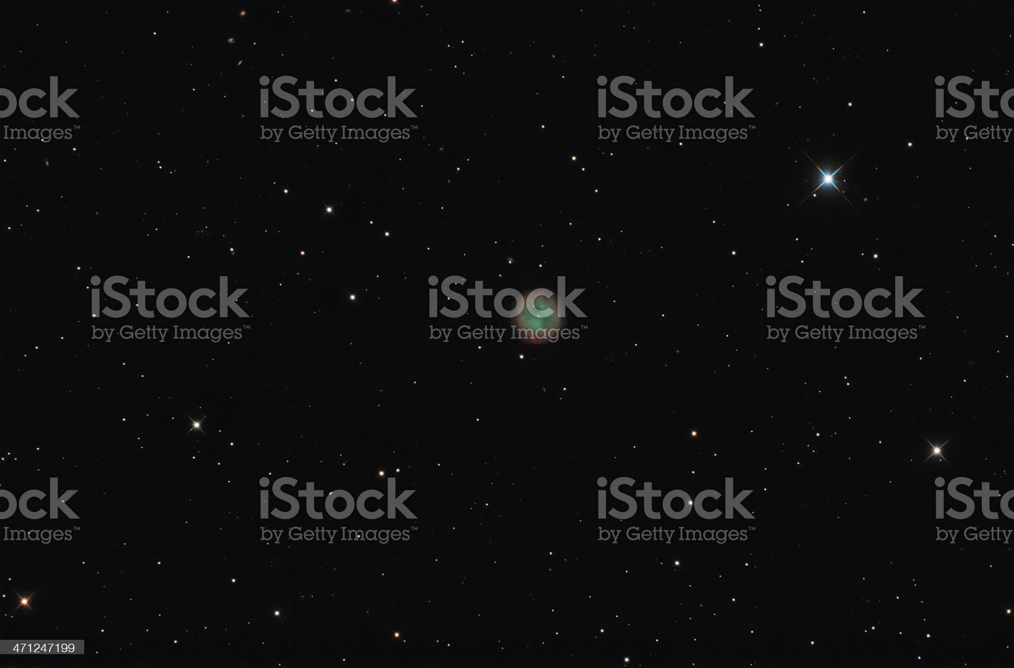 Owl Nebula royalty-free stock photo