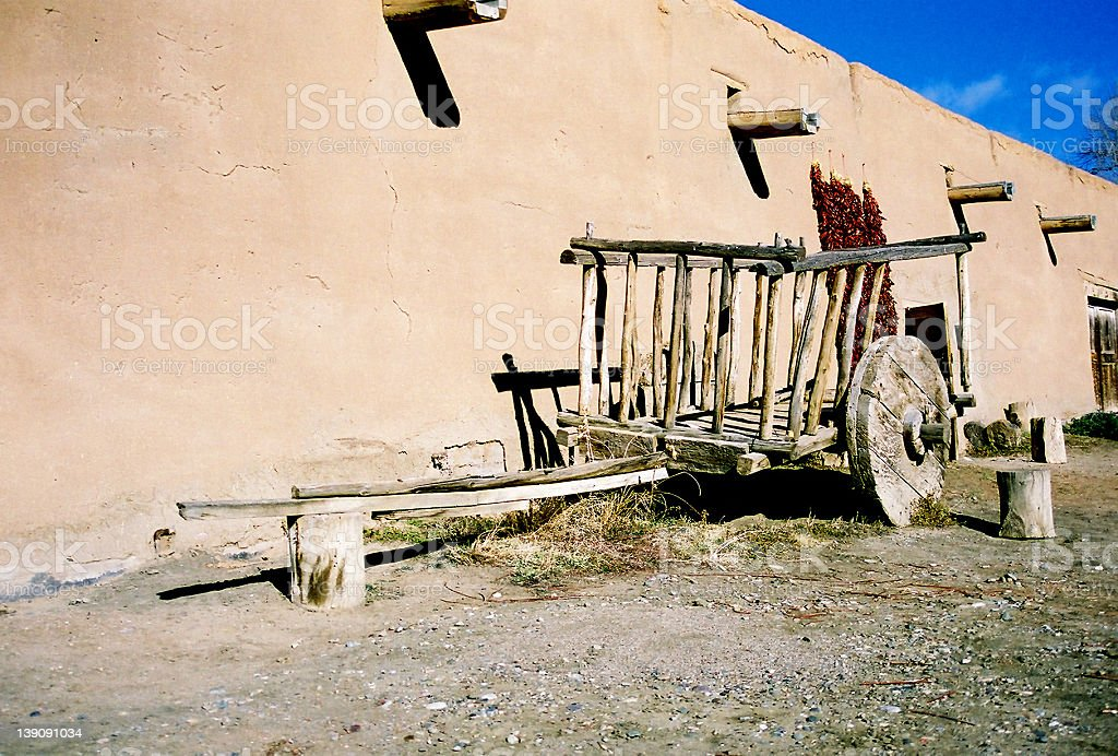 Ox Cart stock photo