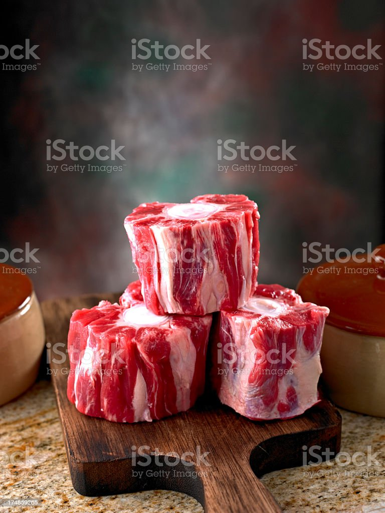 Ox Tail stock photo