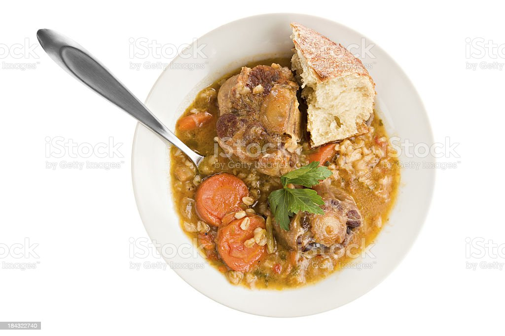 Ox Tail Soup stock photo
