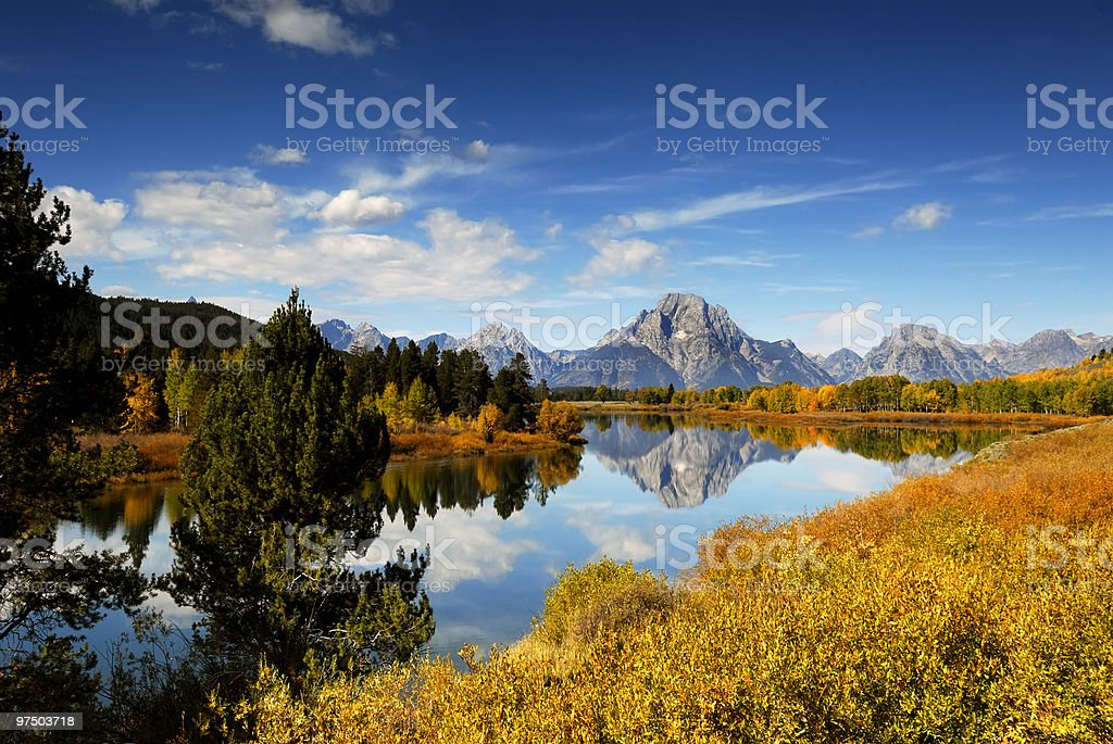 Oxbow Bend 2 royalty-free stock photo