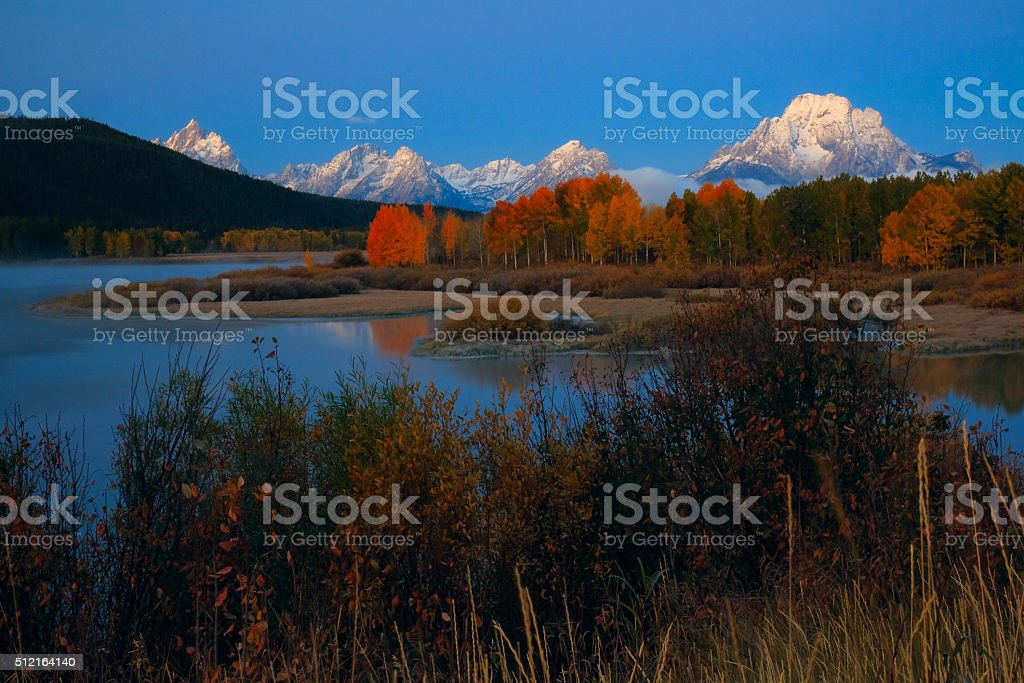 Oxbow Bend royalty-free stock photo