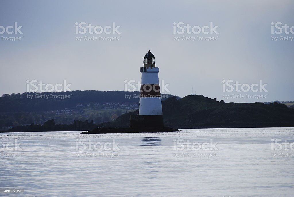 Oxcars Lighthouse stock photo
