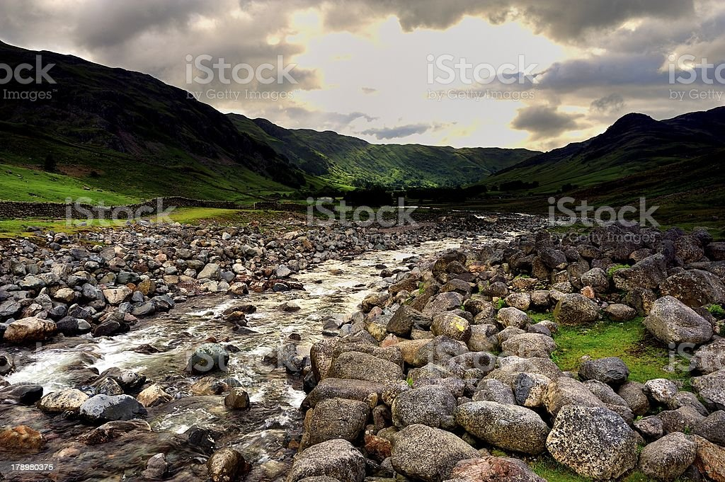 Oxendale Beck royalty-free stock photo