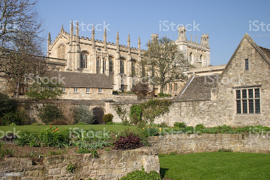 Oxford Cathedral,Christ Church stock photo