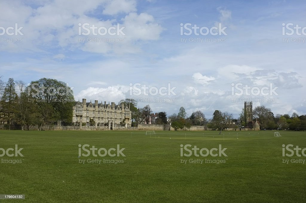 Oxford college royalty-free stock photo