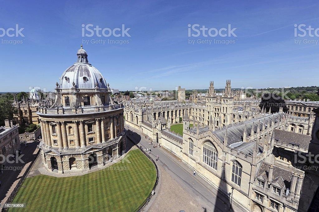 Oxford College stock photo
