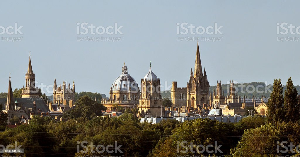 Oxford Dreaming Spires royalty-free stock photo