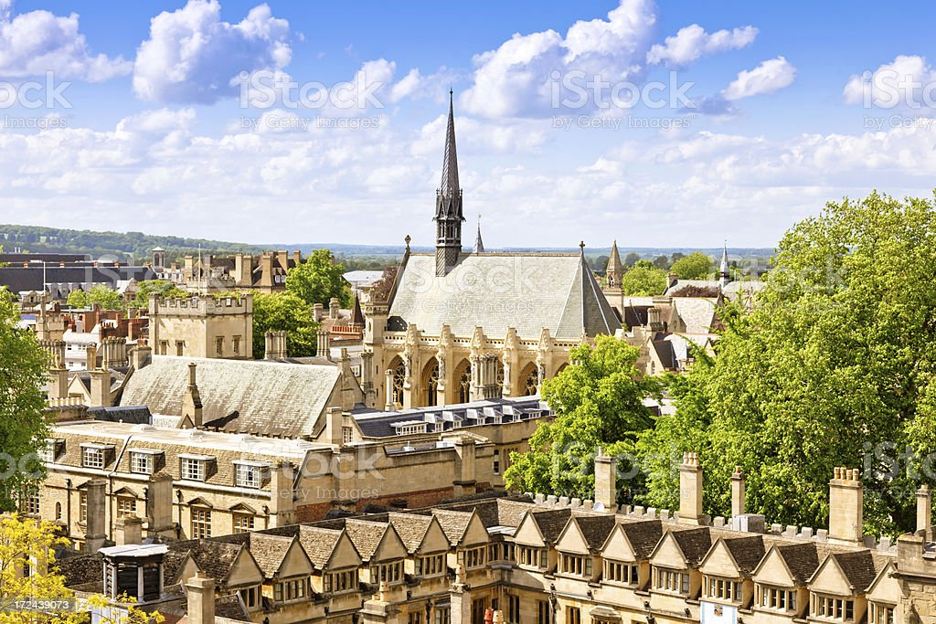 Oxford, England royalty-free stock photo