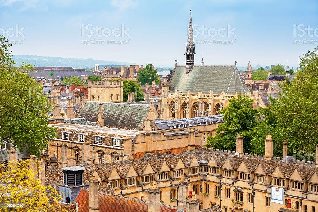 Oxford. England stock photo