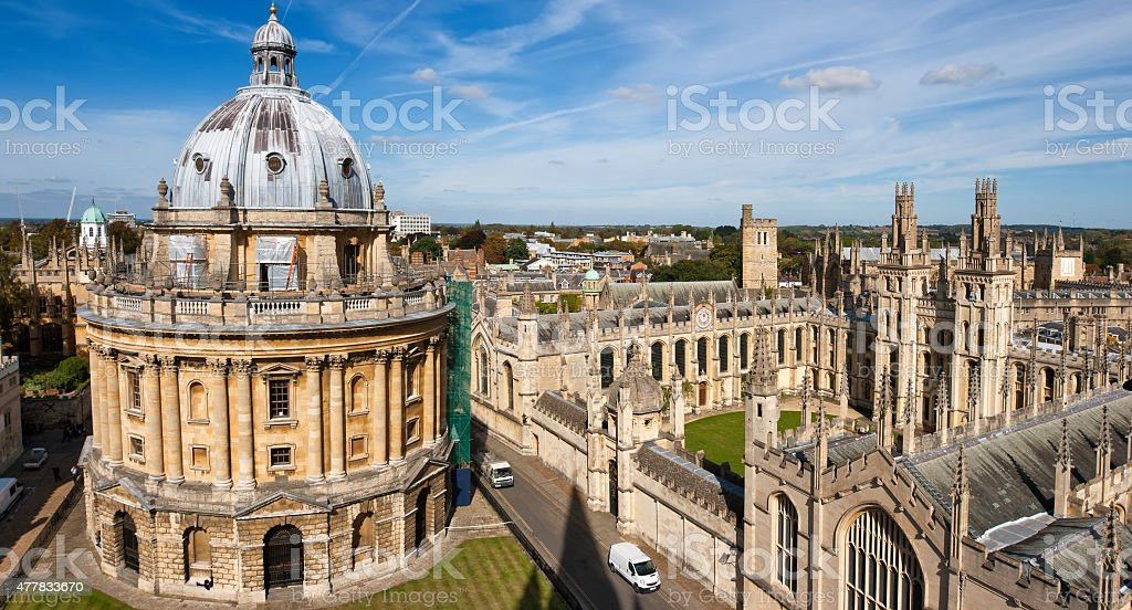 Oxford, England stock photo