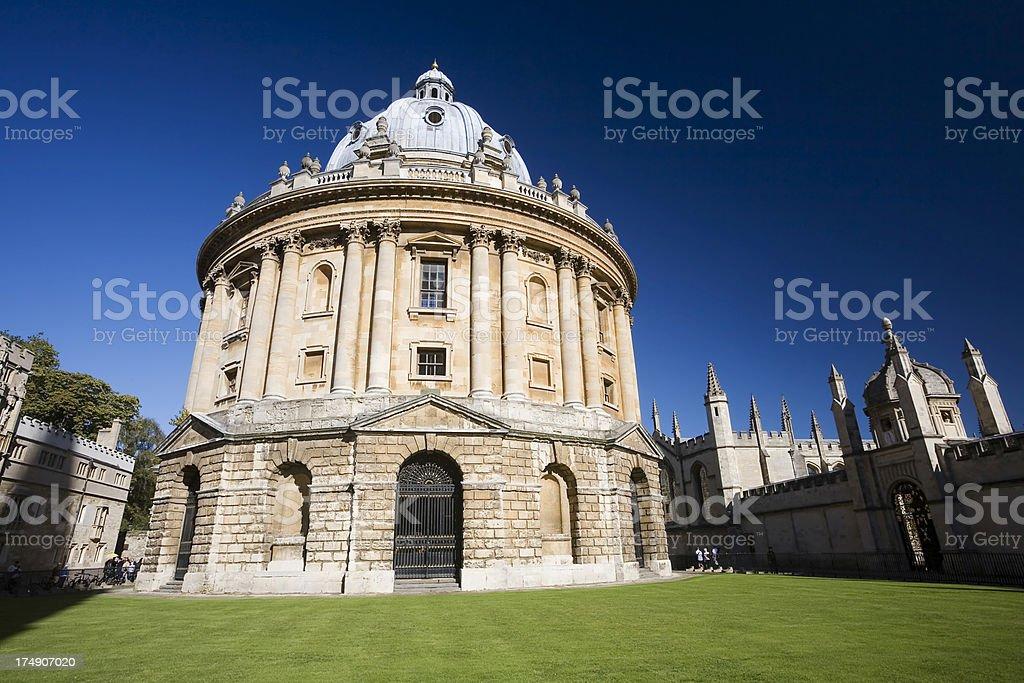 Oxford Landmark royalty-free stock photo