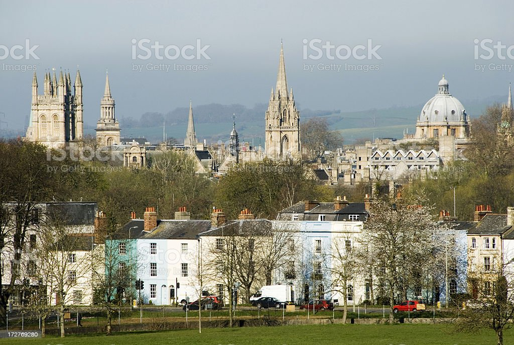 Oxford royalty-free stock photo